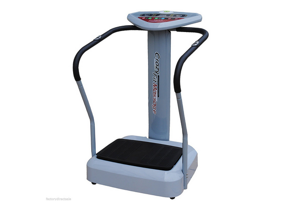 Tangkula 500W Crazy Fit Whole Body Vibration Plate Machine