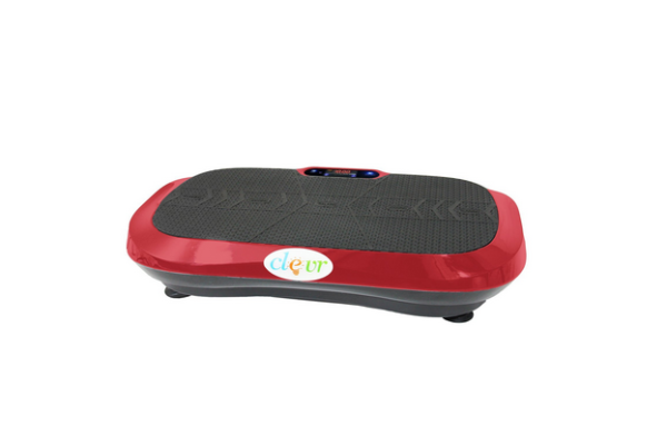 Ultraslim Red Crazy Fit Full Body Vibration Platform Machine