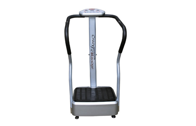 2010 Crazy Fit Massager Full Body Vibration Exercise Machine by Luyuan Inc