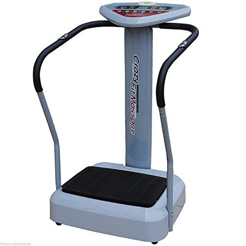 Tangkula 1100W Crazy Fit Whole Body Vibration Plate Machine