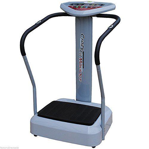 Tangkula 1100W Crazy Fit Whole Body Vibration Plate Machine
